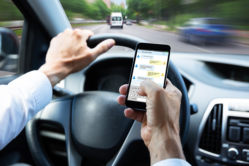 Driving and the use of Your Phone